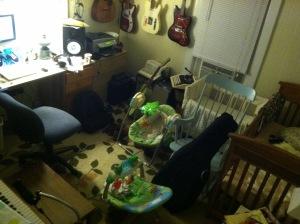 Makeshift studio_nursery or the Nursio!