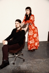 geisha sibling chair- film grain